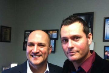 Meeting with Senator Joe Schiavoni