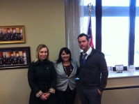 Meeting with Senator Capri Cafaro